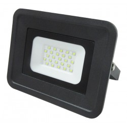 Commel LED reflektor 30W crni IP65 2550lm 6500K